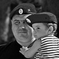 Отец и сын :: Евгений Фатеев