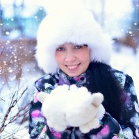 зима :: Ольга Гребенникова