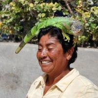 Укротительница  ягуаны :: Николай Танаев