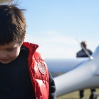 мальчик и самолет :: Владимир Богун