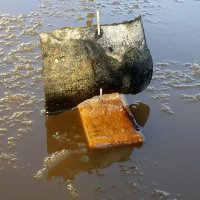 Всем знакомые детские кораблики. :: Павлова Татьяна Павлова
