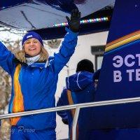 Эстафета Олимпийского огня Оренбург. :: Дмитрий Перов
