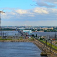 Балаковская ГЭС :: Окcана Гетманец