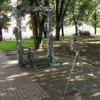 Кованые  скульптуры  Ивано - Франковска :: Андрей  Васильевич Коляскин