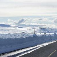 Снежная дорога из Бергена в Гейло :: Елена Павлова (Смолова)