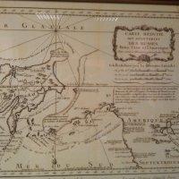 Старинная французская карта :: Tarka
