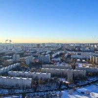 Зимние утро в городе :: Василий Аникеев