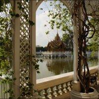 Беседка в летней резиденции Короля Таиланда :: Наталия Григорьева