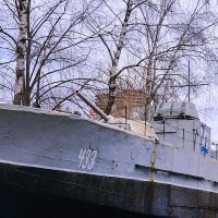 Бронекатер проекта 1124 :: Владимир Болдырев