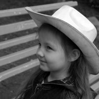 Девочка в шляпе. :: Anna Gornostayeva