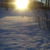 Солнечный круг, снега вокруг :: Татьяна