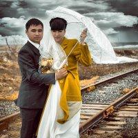 Свадьба, железная дорога :: Svetlana Zavsegolova-Haritonova