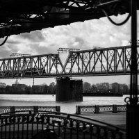 Мост через Обь :: Кирилл Золотаев