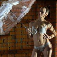 она и зонт :: сергей коник