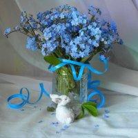 Голубой букетик. :: nadyasilyuk Вознюк