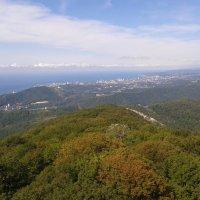 Гора Ахун, вид на Сочи! :: Борис E