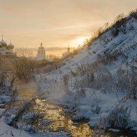 Морозный вечер :: Валентин Котляров
