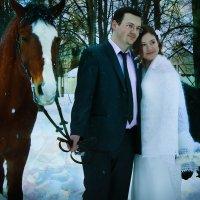 Свадебное. Зимний фотовыезд 2015 :: Юлия