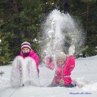 Снежные фонтаны :: Алексей Матвеев
