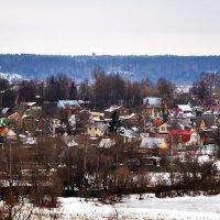 Зима в деревне :: Владимир Болдырев