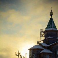 Церковь в Сегеже :: Татьяна Гилепп