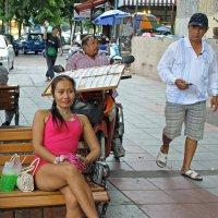 Таиланд. Бангкок. Торговля лотерейными билетами и не только :: Владимир Шибинский