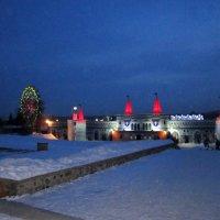 Ледовый городок в Новосибирске . :: Мила Бовкун