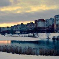 Зимний вечер в спальном районе :: Валентина Данилова