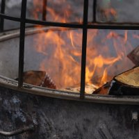 ... притягательная сила огня... :: Влада Ветрова