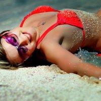 на песочке :: Алеся Самульцева