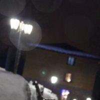 Дождливый зимний вечер :: Елена Герасимова