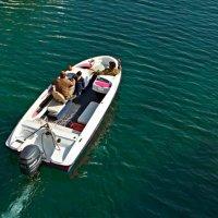 Трое в лодке :: Lidiya Dmitrieva