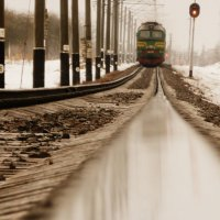 Поезд,поезд... :: Саша Матвіюк