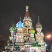 Покровский собор (храм Василия Блаженного) , Красная площадь , Москва , Россия :: Алексей Кузьмин