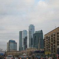 Небоскребы (Москва) :: Алексей Кузьмин