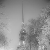 зимний вечер в Петропавловке :: Анатолий Сысоев