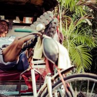 Rickshaw at Strike :: Eva Langue