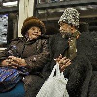 В метро :: Николай Шлыков