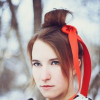 Девушка в образе :: Евгения Ермолаева