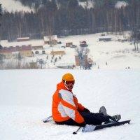 лыжница :: Юлия Паршакова