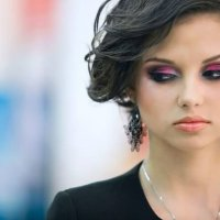 Вечерний, подиумный макияж :: Юлия Мальцева