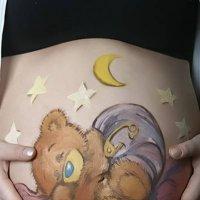 Боди-арт для будущей мамы :: Юлия Мальцева