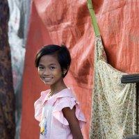 Девочка на празднике в городе Баган. :: Олег Грачёв