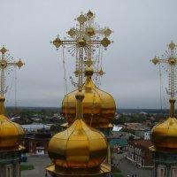 Золотые купола Верхотурья :: Сергей Комков