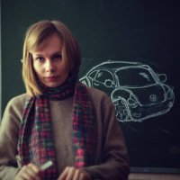 Машка и мой фольцваген битл!))) :: Катька Zenitчица