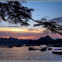 Закат на острове Катба :: Евгений Печенин