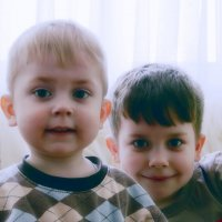 Егорка и Славик :: Евгения Никитина