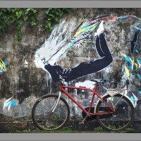 Сны старого велосипеда... :: Юрий Ходзицкий