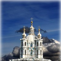 СМОЛЬНЫЙ СОБОР. :: Александр Яковлев