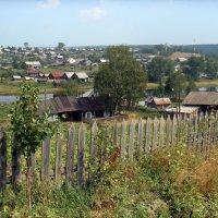 Деревня на реке Межевая Утка. :: Елизавета Успенская